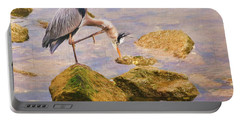 Itchy  Neck Heron Portable Battery Charger