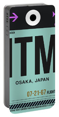 Itm Osaka Luggage Tag II Portable Battery Charger