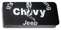 Its A Chevy Thing Portable Battery Charger