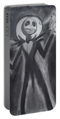 Jack Skellington Portable Battery Charger