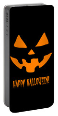 Jackolantern Happy Halloween Pumpkin Portable Battery Charger