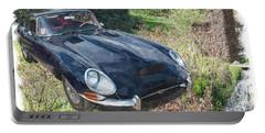 Jaguar E Type Portable Battery Charger