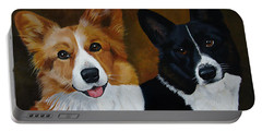 James And Joy Custom Portrait Painting Portable Battery Charger