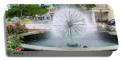 James Brown Blvd Fountain - Augusta Ga Portable Battery Charger