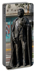 James Brown Statue - Augusta Ga 2 Portable Battery Charger