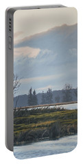January Skies Portable Battery Charger