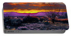 January Sunrise Portable Battery Charger