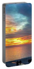 January Sunset - Vertirama Portable Battery Charger
