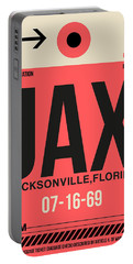 Jax Jacksonville Luggage Tag I Portable Battery Charger
