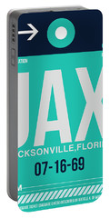 Jax Jacksonville Luggage Tag II Portable Battery Charger