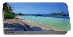 Jetty On Isla Contoy Portable Battery Charger