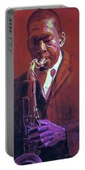 John Coltrane Portable Battery Charger