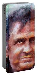Johnny Cash Artwork Portable Battery Charger