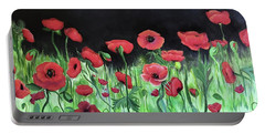Jon's Poppies Portable Battery Charger