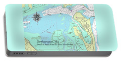 Joppa Flats Map Portable Battery Charger