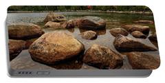 Jordon Pond Boulders Portable Battery Charger