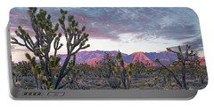 Joshua Trees And Little San Bernardino Portable Battery Charger