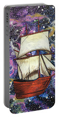 Portable Battery Charger featuring the painting Journey Of Faith by Nathan Rhoads
