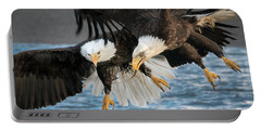 Jousting Eagles Portable Battery Charger