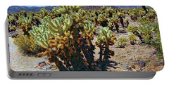 Jumping Cholla Cactus Portable Battery Charger
