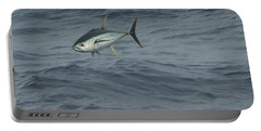 Jumping Yellowfin Tuna Portable Battery Charger