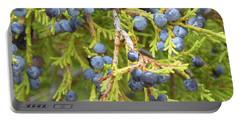 Juniper Berries Portable Battery Charger