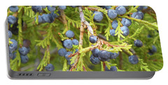 Juniper Berries Portable Battery Charger
