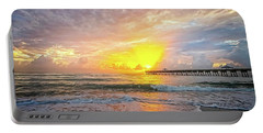 Juno Beach Pier Sunrise 2 Portable Battery Charger