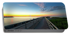 Jupiter Inlet Morning Sky Portable Battery Charger