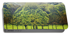 Portable Battery Charger featuring the photograph Just Trees by Leigh Kemp