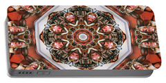 Kaleidoscope Of Apple Still Life Portable Battery Charger