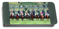 Keeneland Starting Gate Portable Battery Charger