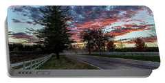 Portable Battery Charger featuring the photograph Keswick Sunset by Lori Coleman
