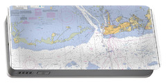 Key West Harbor And Approaches, Noaa Chart 11441 Portable Battery Charger