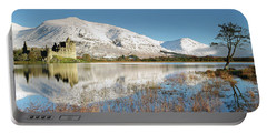 Kilchurn Castle - Loch Awe - Winter Morning Portable Battery Charger