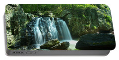 Kilgore Falls In Summer Portable Battery Charger
