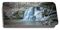 Kilgore Falls In Winter Portable Battery Charger