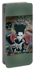 King Basquiat Portable Battery Charger