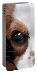 King Charles Spaniel Portable Battery Charger