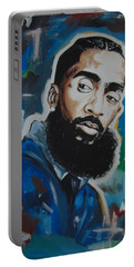 King Nipsey Portable Battery Charger