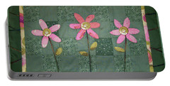Kiwi Flowers Portable Battery Charger