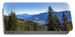 Portable Battery Charger featuring the photograph Kleinwalsertal, Austria by Andreas Levi