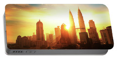 Kuala Lumpur Sunrise Portable Battery Charger