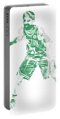 Kyrie Irving Boston Celtics Pixel Art 72 Portable Battery Charger