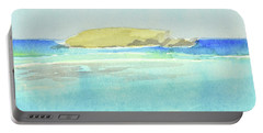 La Tortue, St Barthelemy, 1996_4179 Clean Cropped, 102x58 Cm, 6,86 Mb Portable Battery Charger