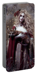 Lady And The Fox Portable Battery Charger