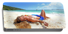Lady Of The Leewards Portable Battery Charger