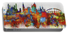 Lagos Colorful Skyline Portable Battery Charger