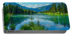 Lake At Banff Indian Trading Post Portable Battery Charger