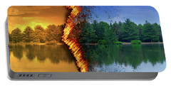 Lake Forest Fire Portable Battery Charger